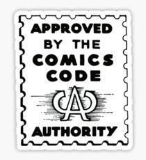 Pegatina Código de cómic