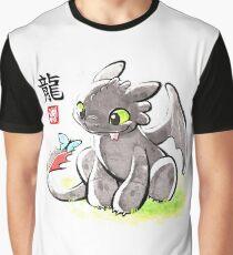 Watercolor dragon Graphic T-Shirt