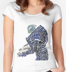 Garrus Women's Fitted Scoop T-Shirt