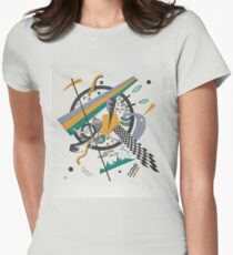 Vasily Kandinsky Inspired Fine Art Gifts w/ Artist's Signature  | Small Worlds IV  Women's Fitted T-Shirt