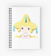 Jirachi Pokemon Simple No Borders Spiral Notebook