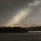 Lonely Houses Bathed in light by Claire Walsh