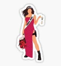 Miss Congeniality Sticker