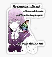 Fuwa Aika Quote, Zetsuen no tempest Sticker