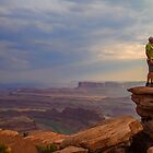 USA. Utah. Dead Horse Point State Park. On the Rock.  by vadim19