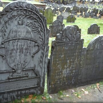 Raindrops On Headstones by RobynLee