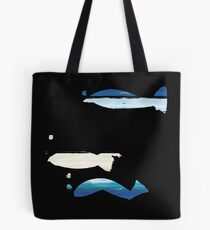 Expressive Fishes Tote Bag