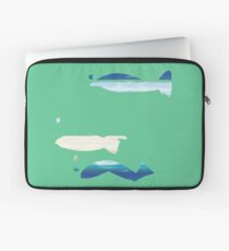 Expressive Fishes Laptoptasche