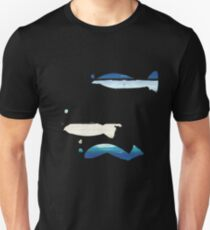 Expressive Fishes Slim Fit T-Shirt