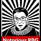 The Notorious RBG by LiunaticFringe