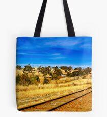 Carcoar to Cowra rail link Tote Bag