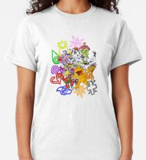 Digimon and Crests Classic T-Shirt