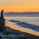 Sunrise on Cook Inlet by Linda Sparks