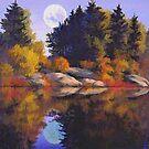 Lake Island by Walter Colvin