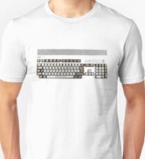 Classic 80's Keyboard Design Unisex T-Shirt