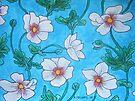 Michelle's White Poppies by Alexandra Felgate