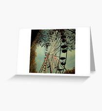 _ at the circus Greeting Card