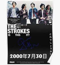 The Strokes: Is This It Poster