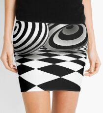 Optical Art - Op Art | Optical effects through pattern and line Mini Skirt