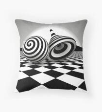Optical Art - Op Art | Optical effects through pattern and line Floor Pillow