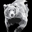Geometric Bear by denisecolgs
