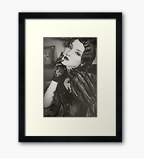 30s Glam II Framed Print