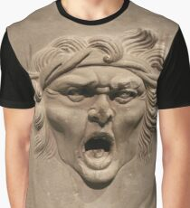 #Carving #2029years #youngadult #head #people #sculpture #adult #art #portrait #statue #ancient #facialexpression #old #realpeople #vertical #reliefcarving #clothing #adultsonly #youthculture Graphic T-Shirt