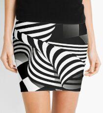 Op Art | Optical effects through pattern and line Mini Skirt