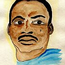 Rev. Dr. Martin Luther King,Jr.  by Dawn Meadows