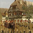 Prussian Soldiers... Stiefelappell, 1890 by edsimoneit