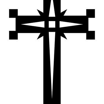 Geometric Cross by joshcartoonguy