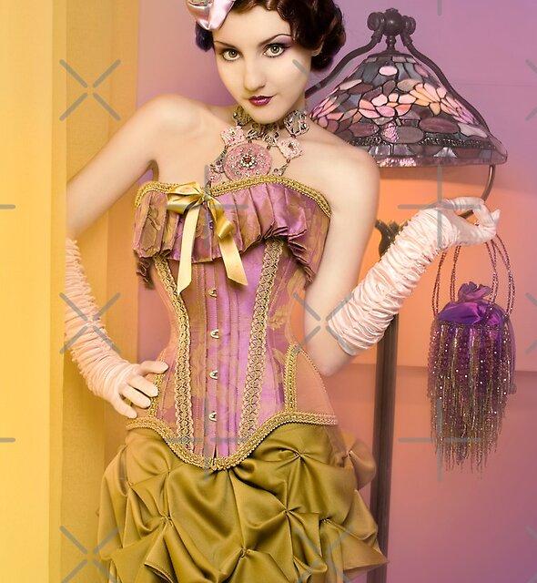 30s Glam III by phantomorchid