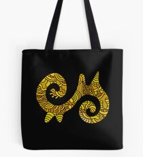 Ahoden: Adinkra Symbol of Energy  Tote Bag