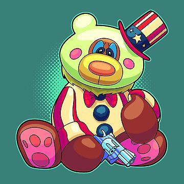 Horror Teddy Bear 8 by artdyslexia