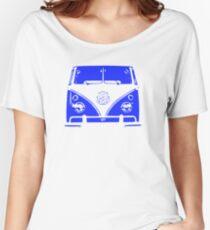 VW Kombi - Blue Women's Relaxed Fit T-Shirt