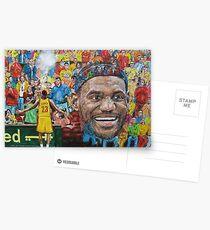 Lebron Postcards