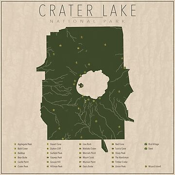 Crater Lake by FinlayMcNevin