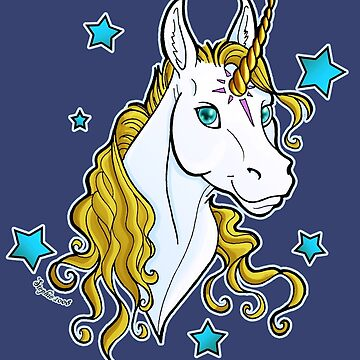 Star Unicorn Gold by cybercat