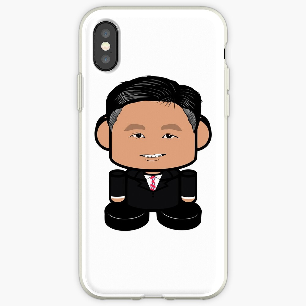 Cali Colonel POLITICO'BOT Toy Robot iPhone Case & Cover