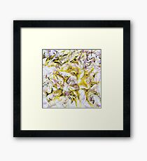 Neurology acrylic painting on panel Framed Print