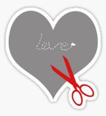 Save your scissors... Sticker