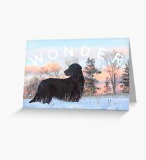 Wondering is wonderful Greeting Card
