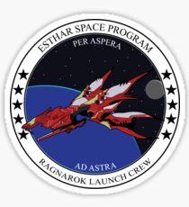 Ragnarok launch crew Sticker