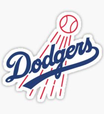 LA Dodgers Sticker