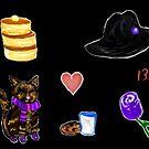 Kuro Cats & Pancakes by BrookeNilsson
