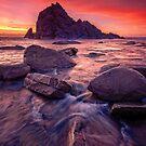 Sugarloaf Rock Sunset by Paul Pichugin