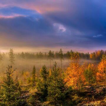 October morning 9 by wekegene
