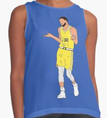 best service a0f2f 610de Steph Curry Shrug Sleeveless Top