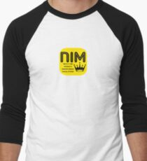 Camiseta ¾ bicolor para hombre Lenguaje de programación nim