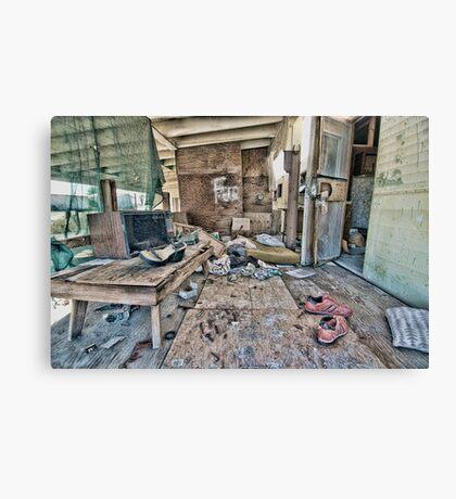 Salton City Abandoned Home Canvas Print